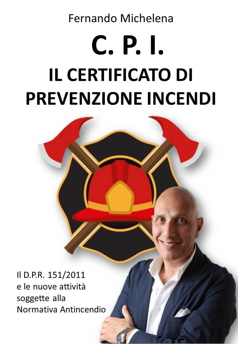 Libro CPI certificato prevenzione incendi